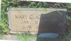Mary <i>Clark</i> Adamson