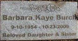 Barbara Kaye Burch