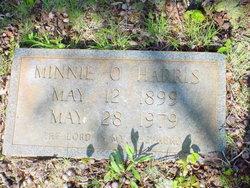 Minnie Virgie <i>Stone</i> Harris