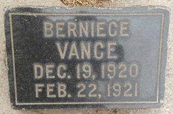 Berniece Vance