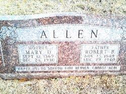 Mary D Allen