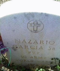 Pvt Nazario Garcia, Sr