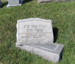 Tzemach Sedek Shomrei Hadath Old  Cemeter