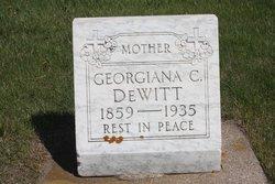 Georgiana C Dewitt