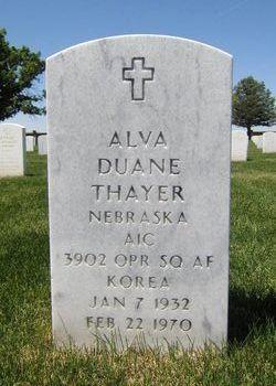 Alva Duane Thayer