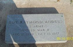 Roy Raymond Andrus