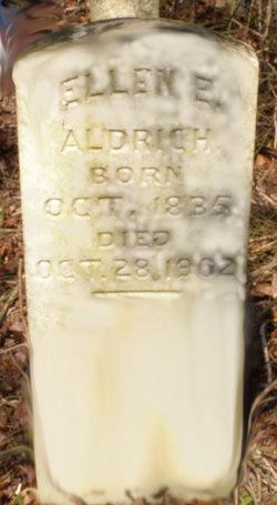 Ellen E <i>Reed</i> Aldrich