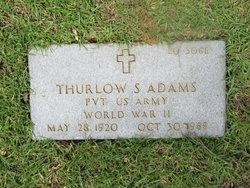 Pvt Thurlow Steed Adams