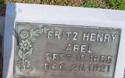 Fritz Henry Abel
