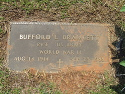 Buford Lonnie Bramlett