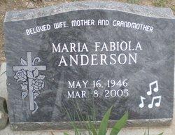 Maria Fabiola <i>Armijo</i> Anderson