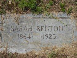Sarah Becton