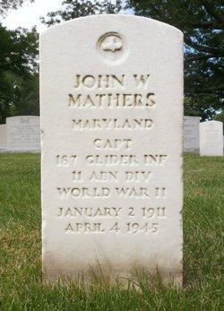 Capt John W Mathers