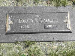 Donald F Pete Blakeslee