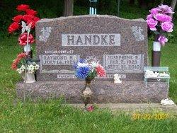 Josephine R <i>Hansel</i> Handke