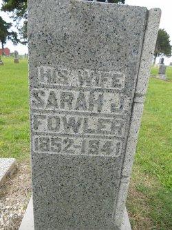 Sarah Jane <i>McKee</i> Fowler