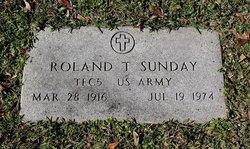 Roland Thomas Sunday