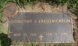 Dorothy Frederickson