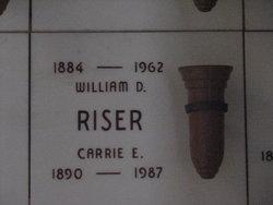 Carrie Ellen <i>Wilson</i> Riser