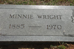 Minnie <i>Jones</i> Wright