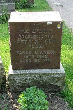 Fanny B <i>Charness</i> Aaron