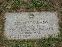 Sgt Herbert Adams