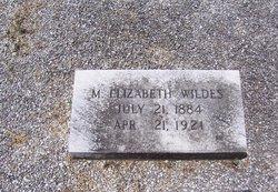 Maggie Elizabeth <i>Wildes</i> Cowart