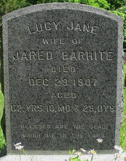 Lucy Jane <i>Knapp</i> Barhite