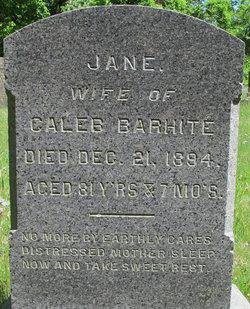 Jane <i>Knapp</i> Barhite