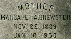 Margaret Anne <i>Frizzell</i> Brewster