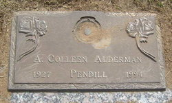 A. Colleen <i>Pendill</i> Alderman
