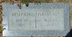 Josephine <i>Fisk</i> Annen