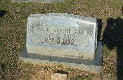 Willie <i>Wright</i> Bell