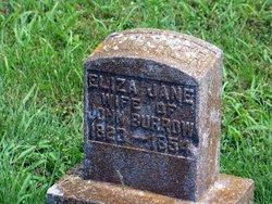 Eliza Jane <i>Chenault</i> Burrow