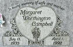 Margaret <i>Worthington</i> Campbell