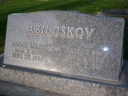 Annie Marie <i>Peterson</i> Abildskov