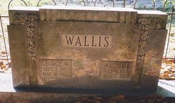 Mattie S <i>Hale</i> Wallis