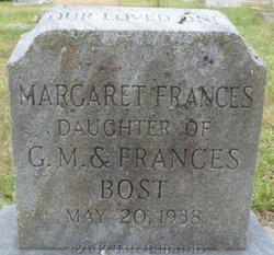 Margaret Frances Bost