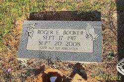 Roger E Booker