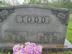 Mertie Lou <i>Stapleton</i> Todd