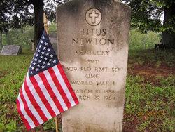 Pvt Titus Newton