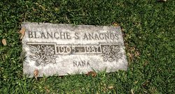 Blanche S Anagnos