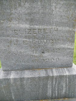 Elizabeth <i>Sublett</i> Couch