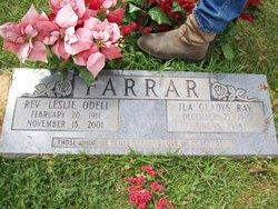 Rev Leslie Odell Farrar