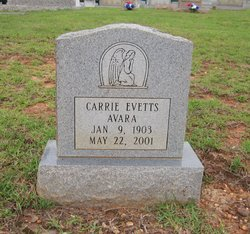 Carrie <i>Evetts</i> Avara