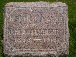 Nettie H <i>Hanks</i> Atterberry