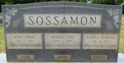 Martha <i>Sossamon</i> Blondell