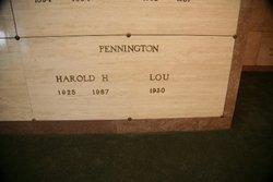 Harold Hall Pennington
