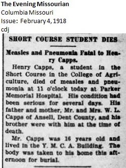 Henry Jacob Capps