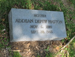 Clary Addean <i>Depew</i> Haston